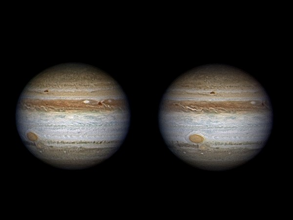 Jupiter - AstroQueyras - Télescope 620 / 9300