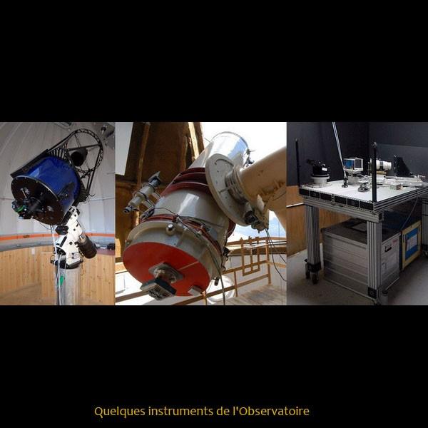 Quelques instruments de l'Observatoire