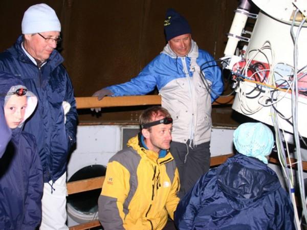 Observation au télescope de 620 mm